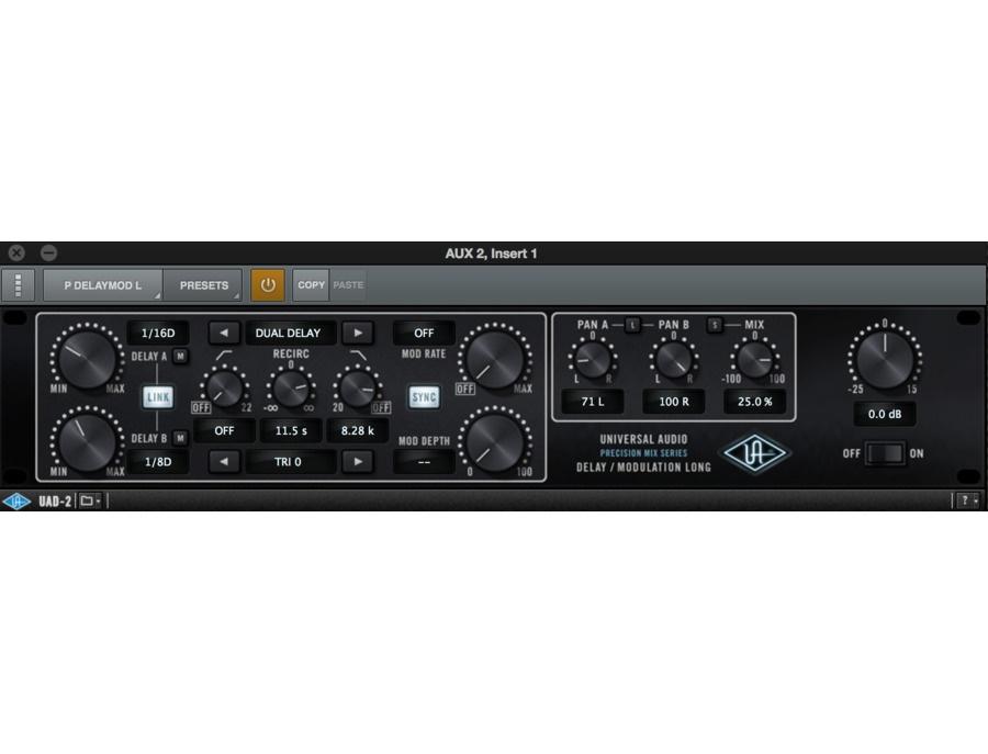 Universal audio precision delay mod xl