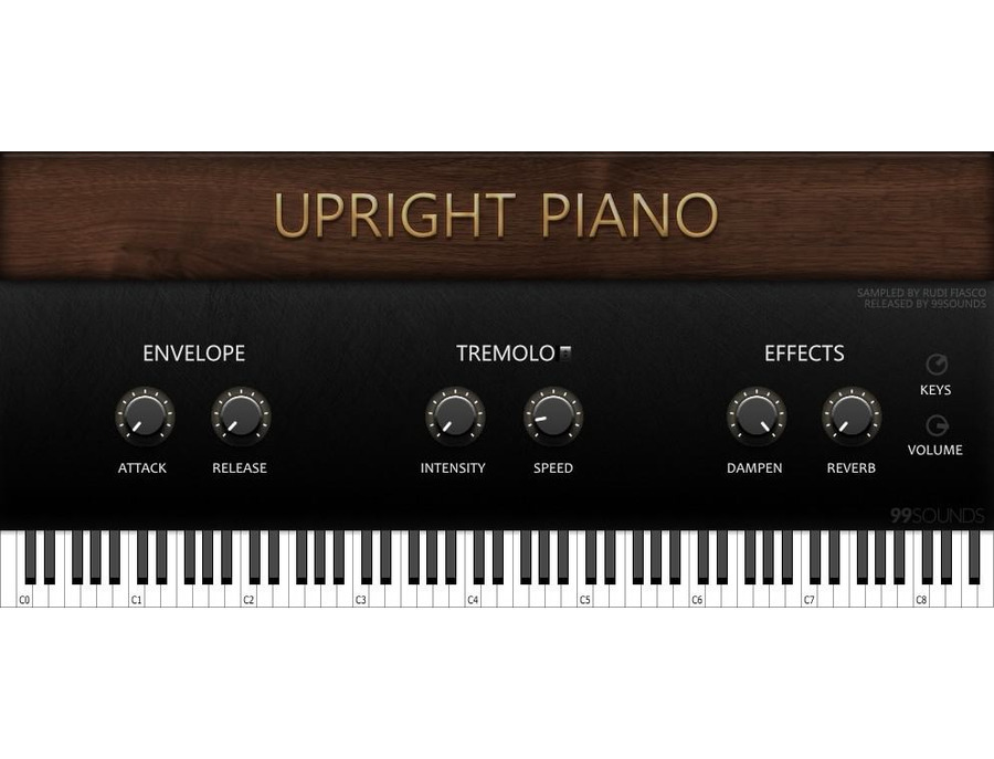 99Sounds Upright Piano