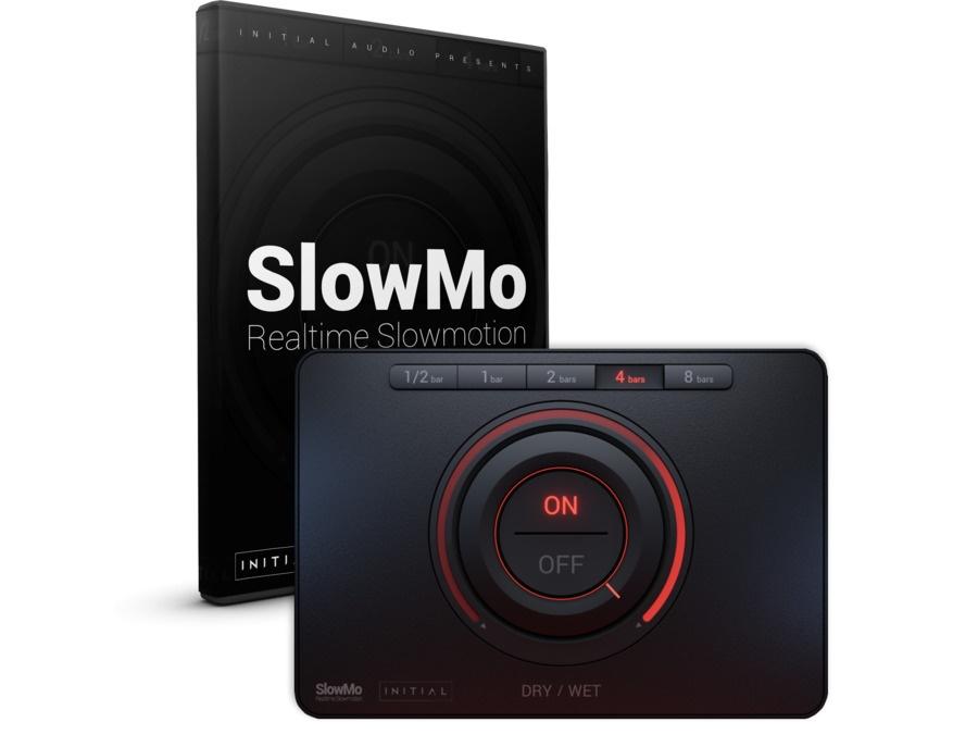 Initial audio slowmo half speed effect plugin xl