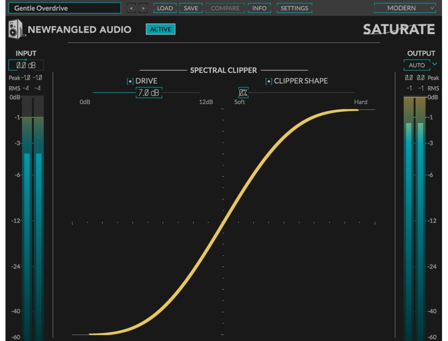 Eventide newfangled audio saturate spectral clipper and psychoacoustic overdrive xl