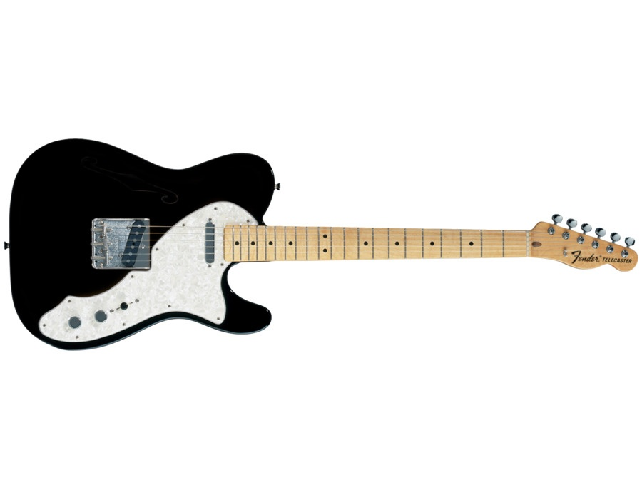 Fender 1977 Vintage Thinline Telecaster Black