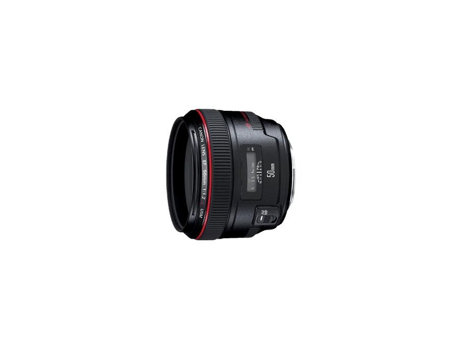 Canon ef 50mm f 1 2 usm xl
