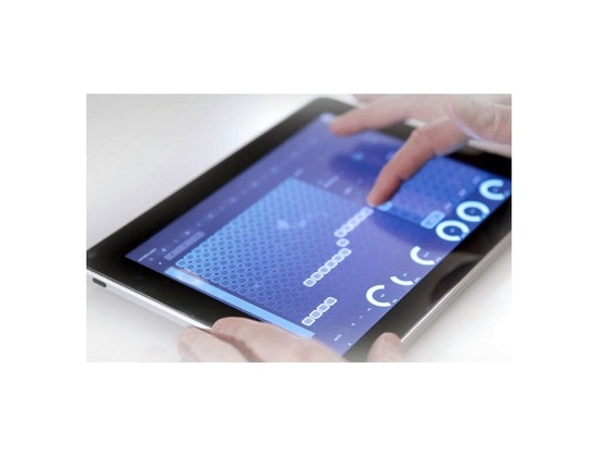 JazzMutant Lemur Multitouch iPad App