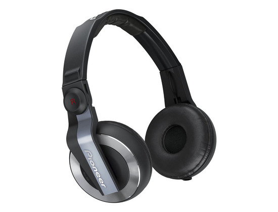 Pioneer HDJ-500 DJ Headphones (Black)