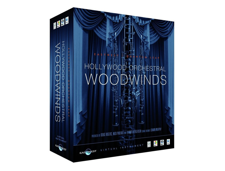 East west hollywood woodwinds xl