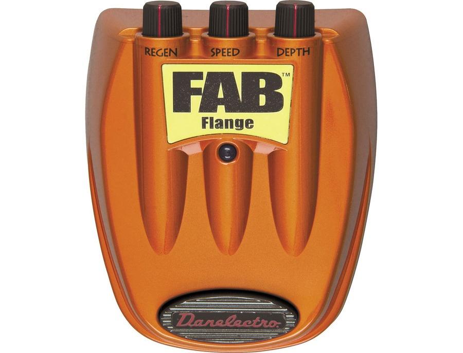 Danelectro fab flange effect pedal xl