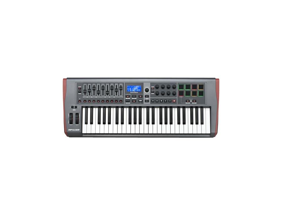 Novation impulse 49 midi keyboard xl