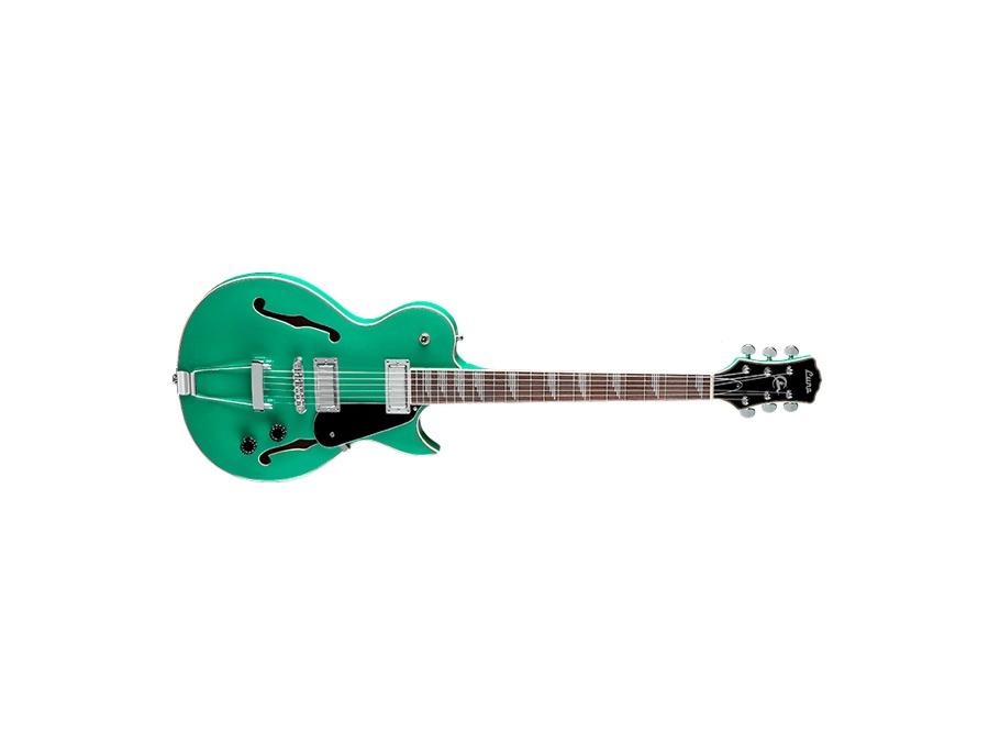 Luna Guitars Athena Vintage Aqua Electric Guitar