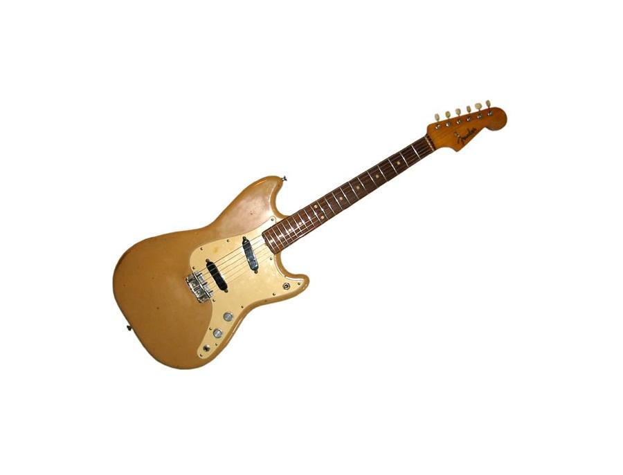 Fender Duo-Sonic Rosewood Blonde Electric Guitar