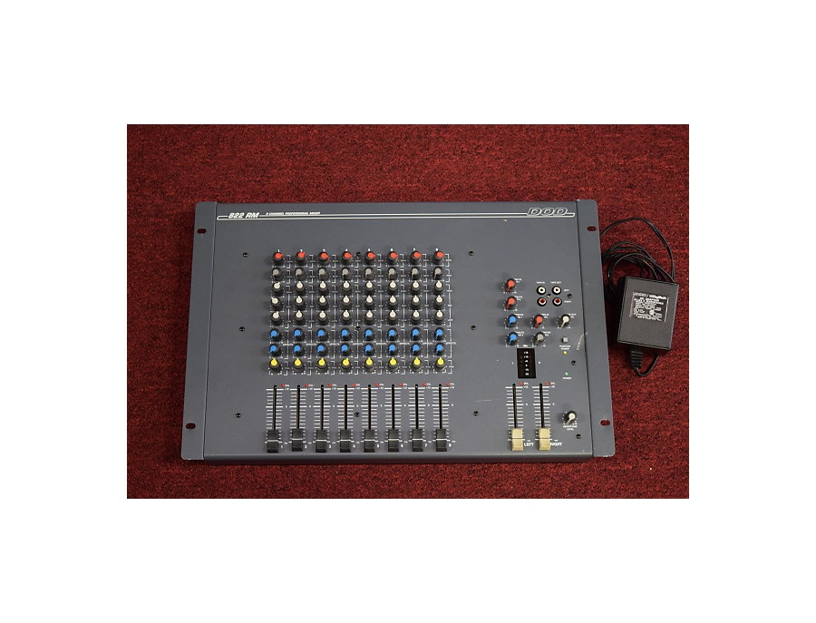 DOD 822 RM 8 Channel Mixer