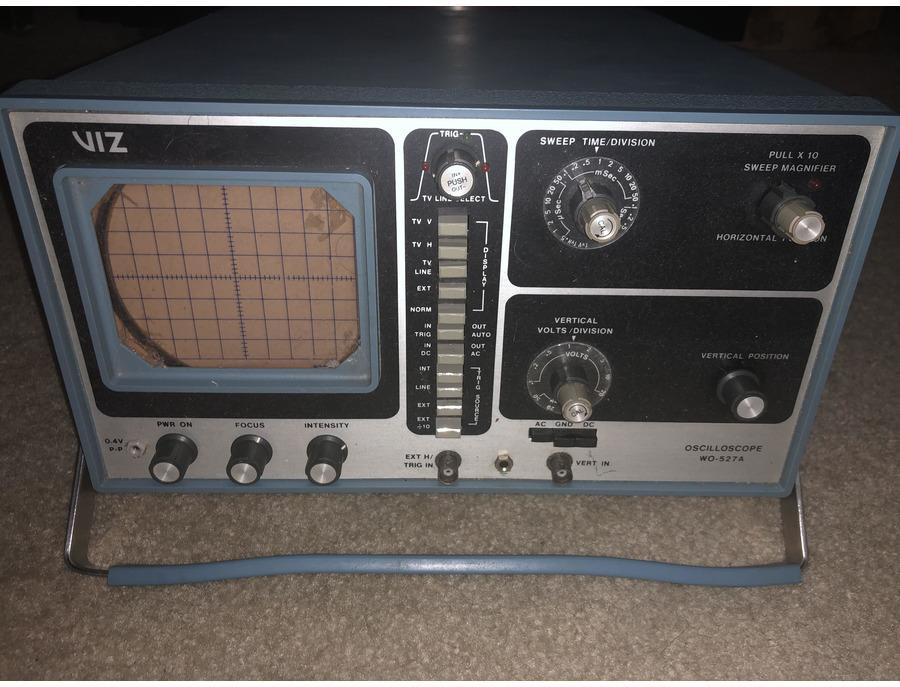 Viz WO-527A Triggered Oscilloscope