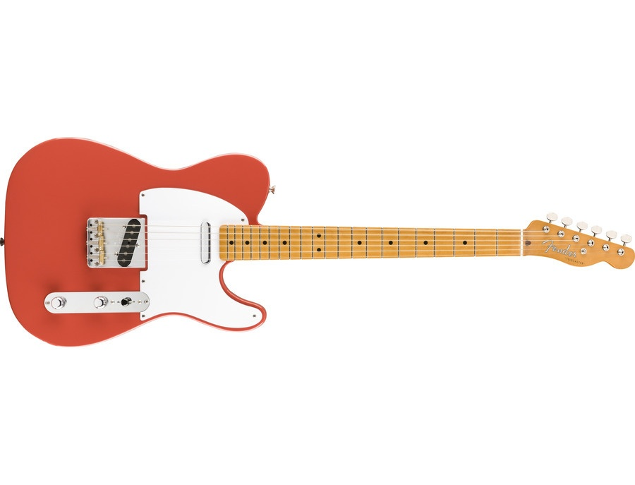 Fender Vintera 50s Telecaster Fiesta Red