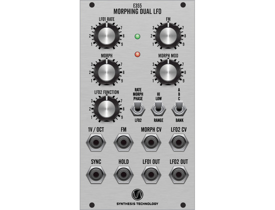 Synthesis Technology E355 Dual Morphing LFO