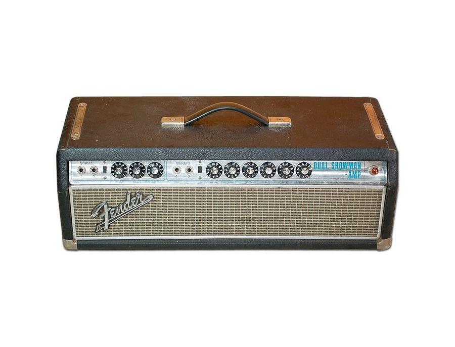 Fender dual showman guitar amplifier xl