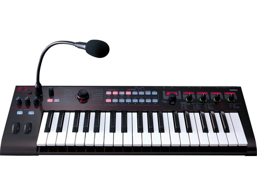 Korg r3 synthesizer vocoder keyboard xl