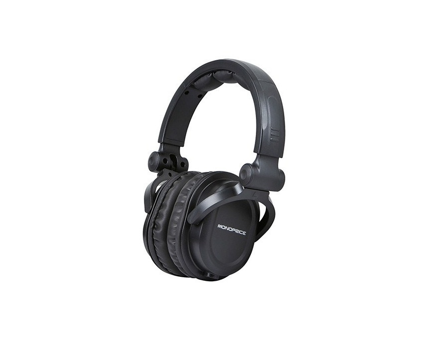 Monoprice Premium Hi-Fi DJ Style Over-the-Ear Pro Headphone