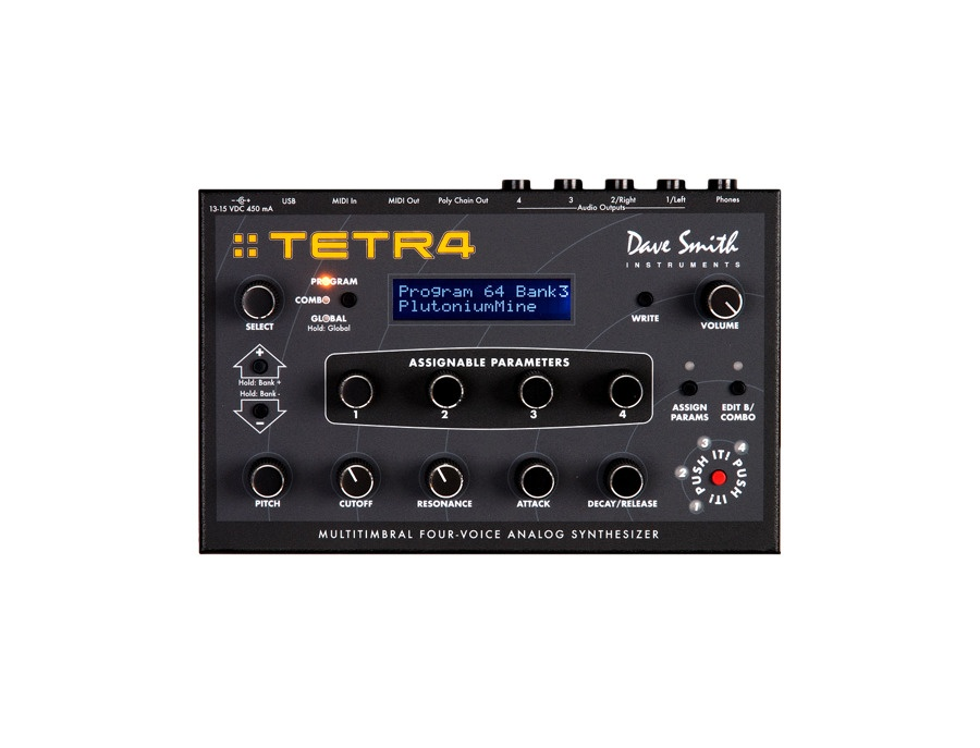 Dave smith instruments tetra desktop synthesizer module xl