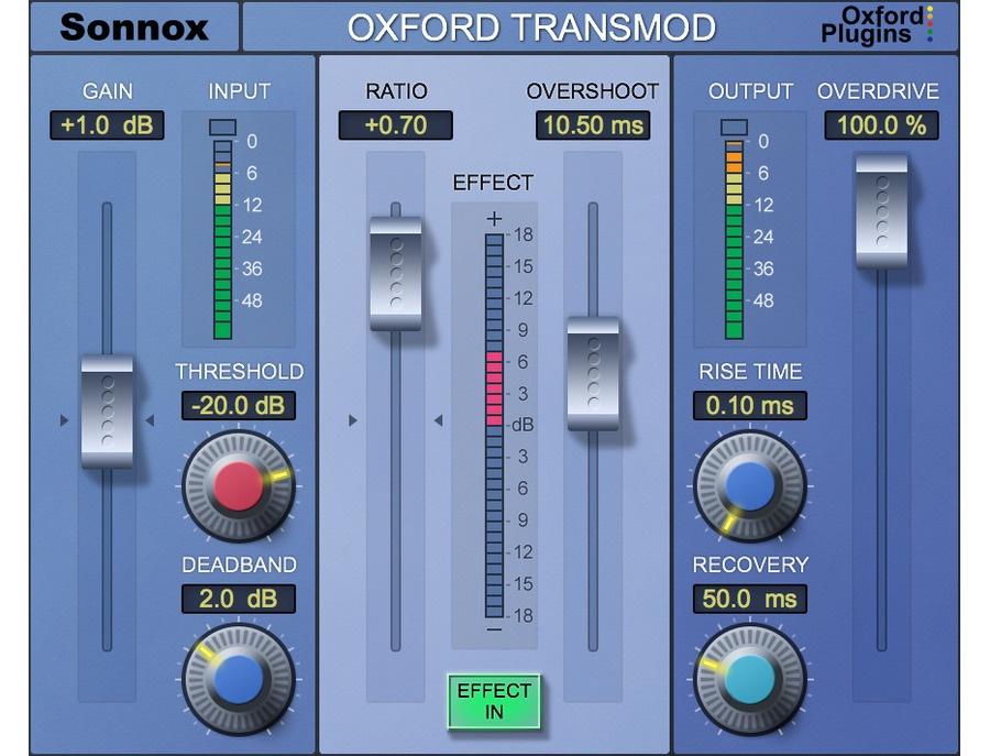Sonnox oxford transmod xl