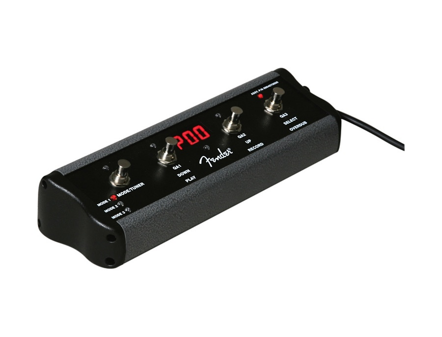Fender ult 4 4 button footswitch for g dec 30 xl
