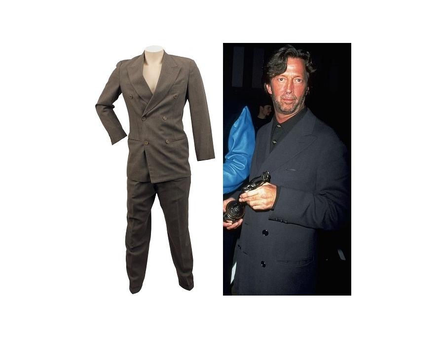 Giorgio Armani Two-Piece Stage Suit Grey