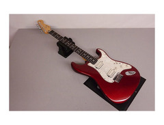 fender double fat strat hardtail candy apple red