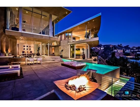 Avicii's Home in Los Angeles, CA
