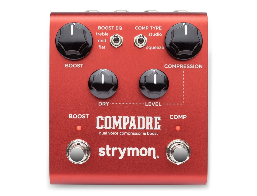 Strymon compadre dual voice compressor and boost xl