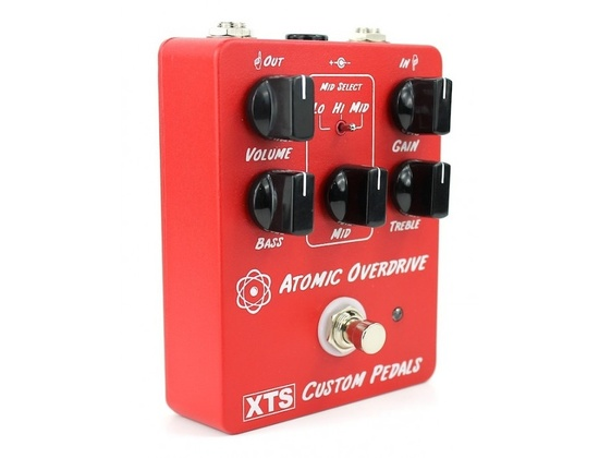 XTS Custom Pedals Atomic Overdrive