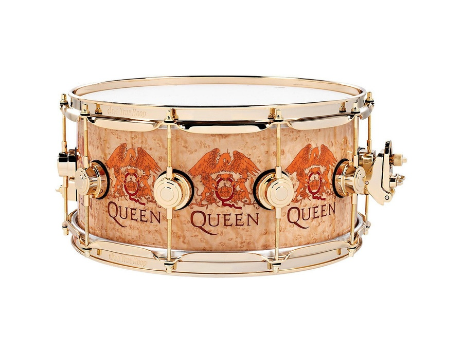 Dw collector s series roger taylor queen icon 14x6 5 snare drum xl