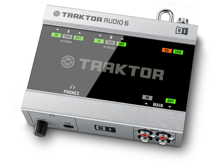 Native instruments traktor audio 6 xl