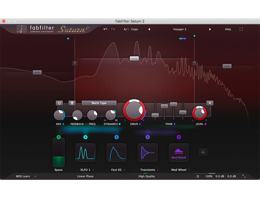 Fabfilter saturn 2 xl