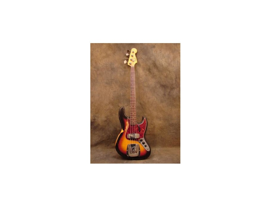 Fender sunburst 60's jazz bass
