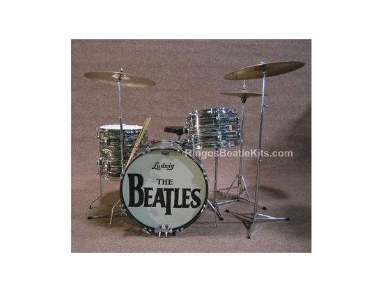 Ludwig Downbeat Oyster Black Pearl
