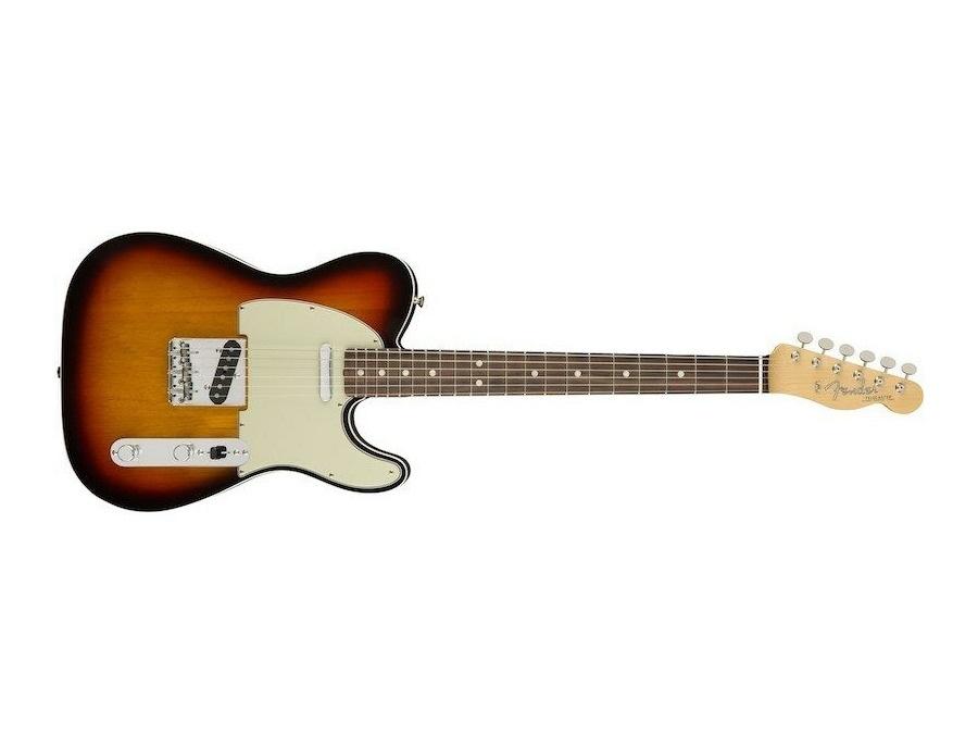 Fender american original 60s telecaster 3 tone sunburst xl
