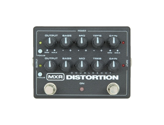 MXR M-151 Doubleshot Distortion Pedal