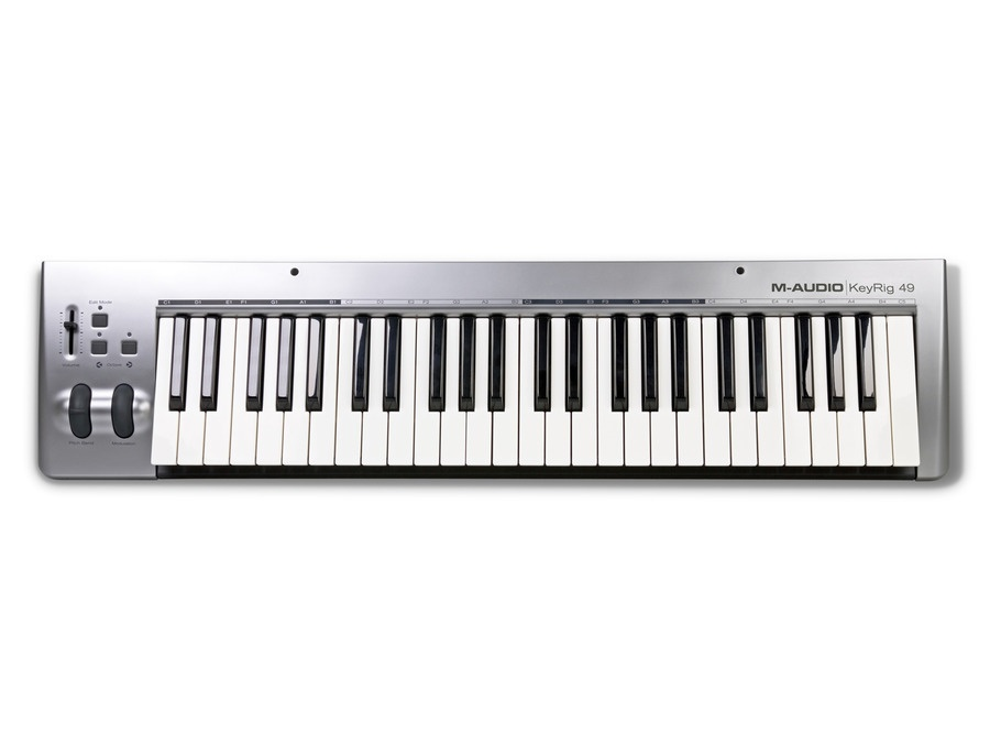 m audio keyrig 49 keyboard controller reviews prices equipboard rh equipboard com KeyRig 49 YouTube KeyRig 49 Windows 7