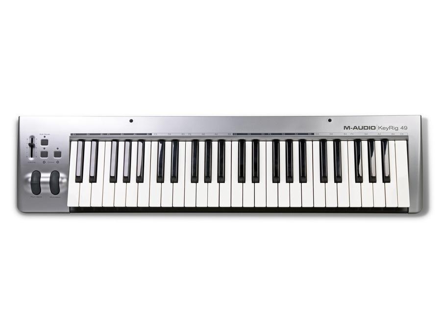M audio keyrig 49 keyboard controller xl