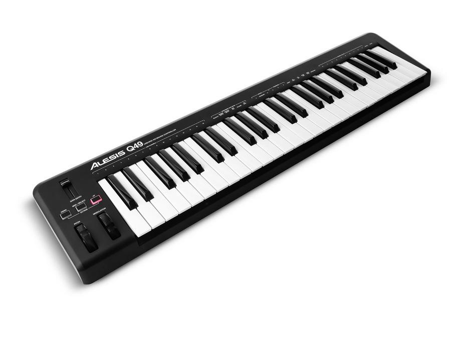 Alesis q49 49 key usb midi keyboard controller xl