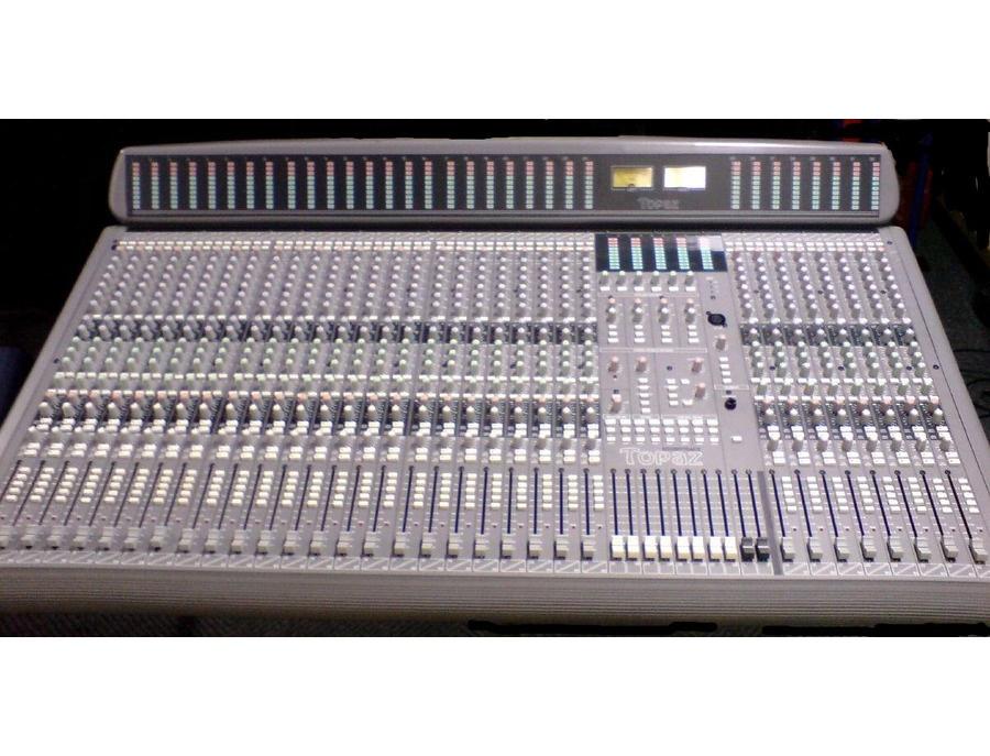 Soundtracs topaz project 8 32 channel xl