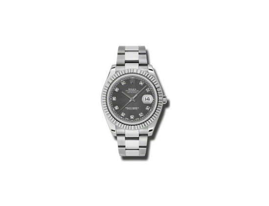 Rolex Datejust II Steel and White Gold Reference 116334