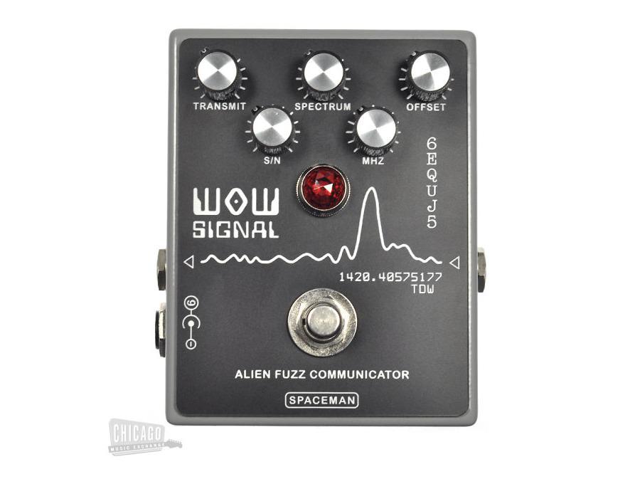 Spaceman Wow Signal fuzz pedal