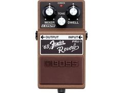 Boss frv 1 63 fender reverb pedal s