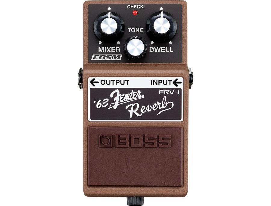 Boss frv 1 63 fender reverb pedal xl