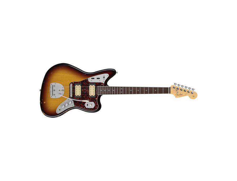 Fender kurt cobain road worn jaguar electric guitar xl