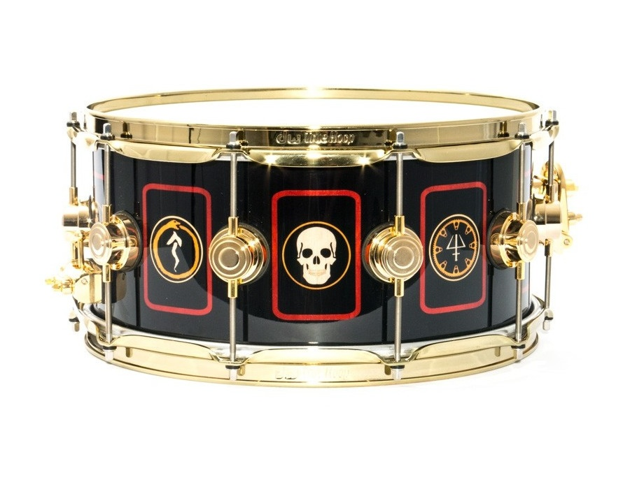 Dw 14 x 6 5 collector s series neil peart r40 snare drum xl