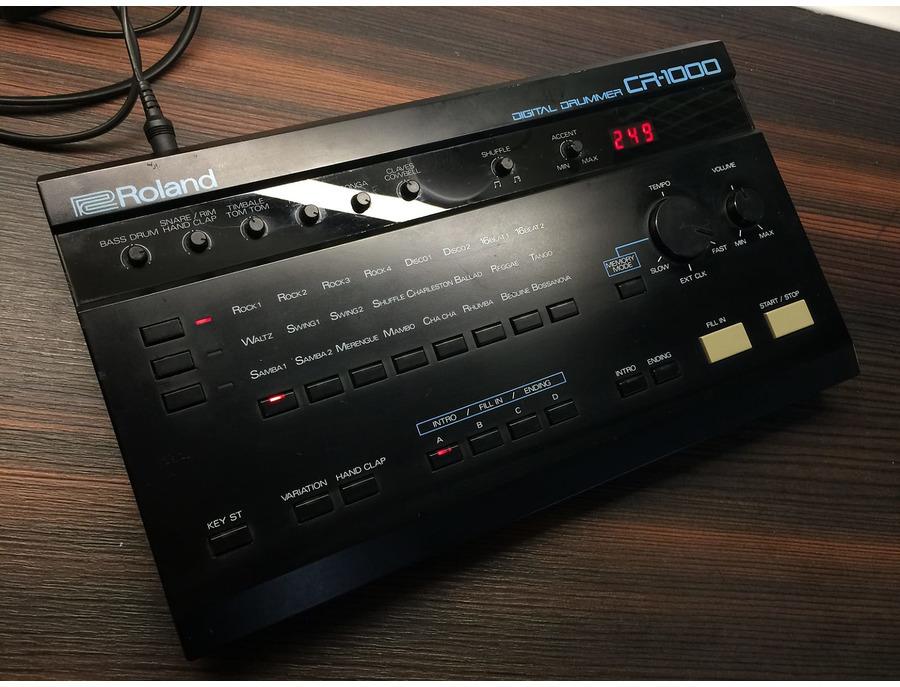 Roland cr 1000 digital drummer xl