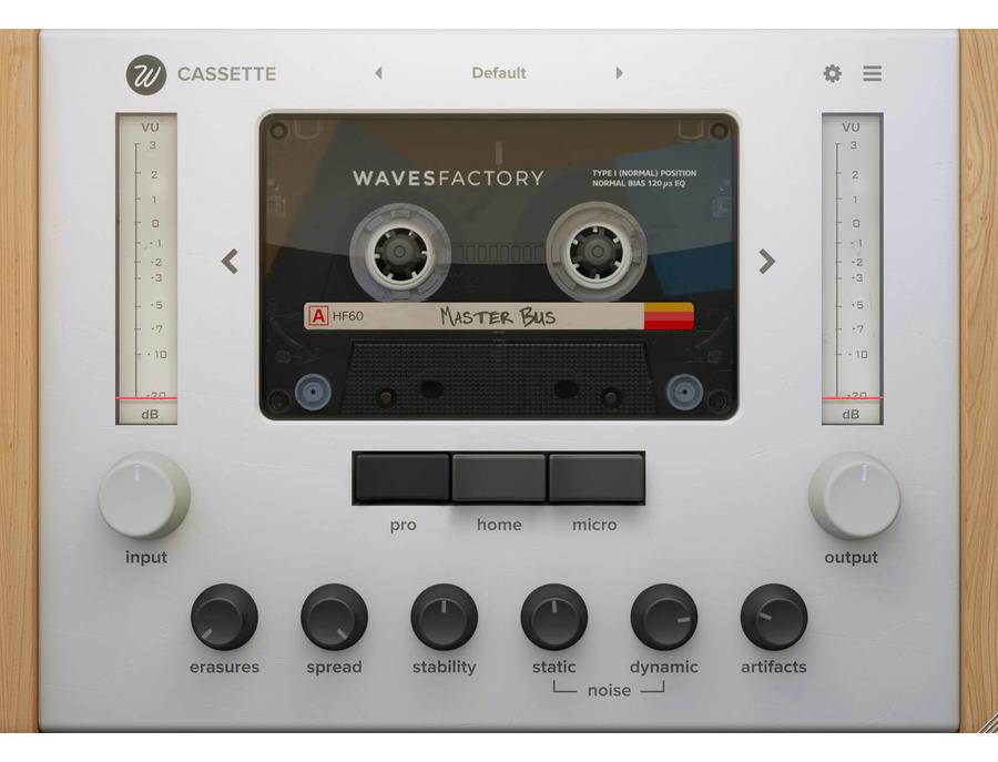 Wavesfactory cassette xl