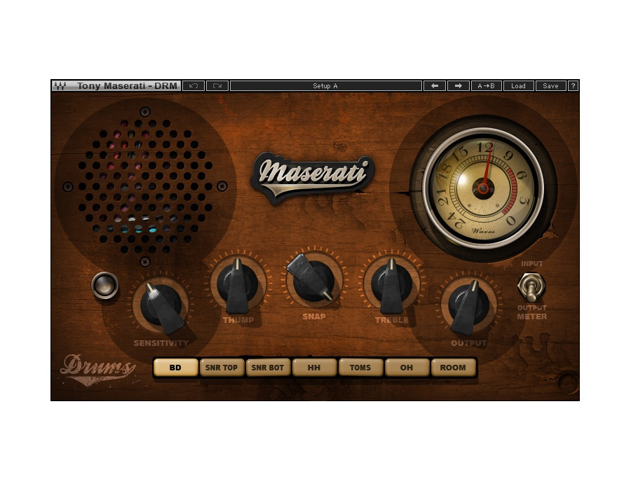 Waves Maserati DRM Drum Slammer Plugin