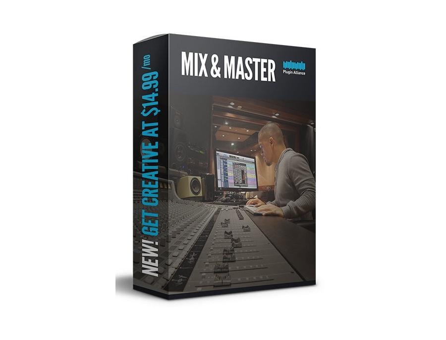 Plugin alliance mix and master bundle xl
