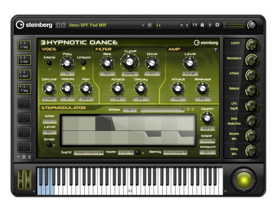 Steinberg hypnotic dance xl